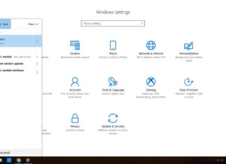 Windows 10 Search interface
