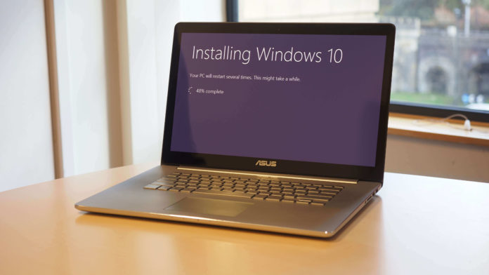 Windows 10 installing