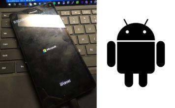 Android on Lumia 950 XL