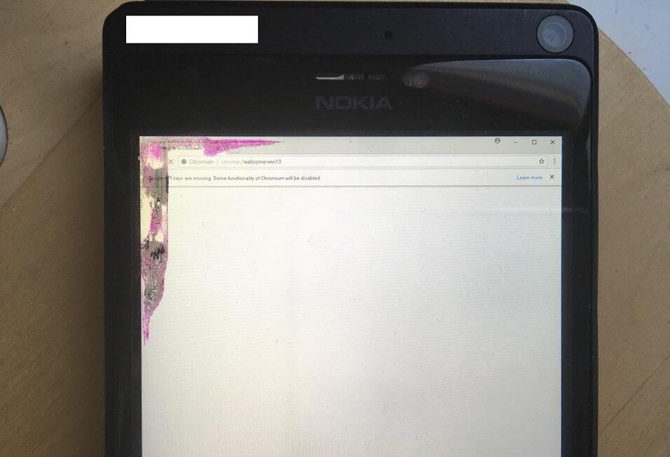 Chrome on Lumia