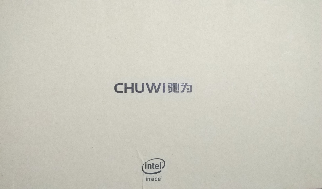 Chuwi SurBook Mini box front panel