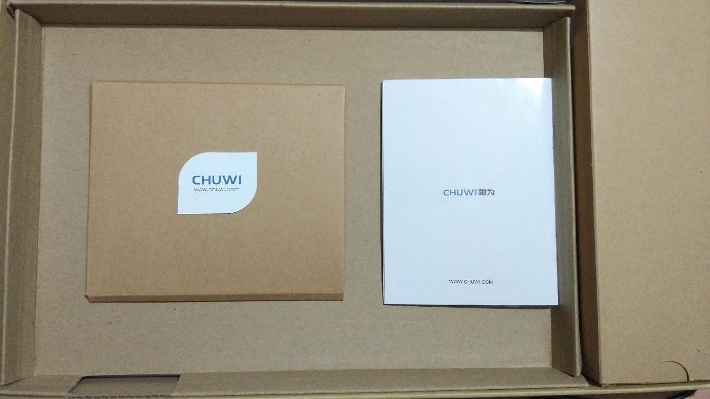 Chuwi SurBook Mini package