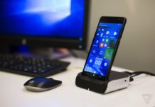 HP Elite X3 with dock