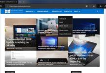 Microsoft Edge in Windows 10 April 2018 Update