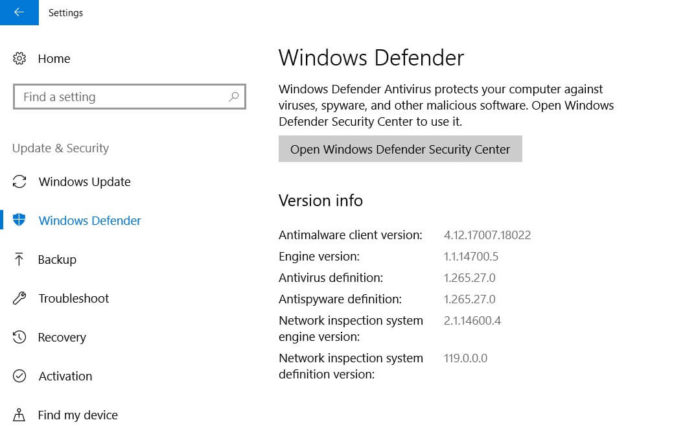 Microsoft Malware Protection Engine vulnerability