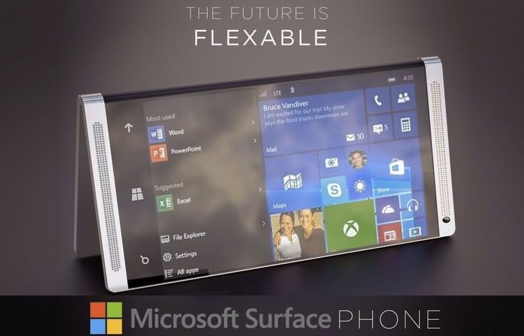 Microsoft Surface Phone The Future Of Smartphones Is Folding