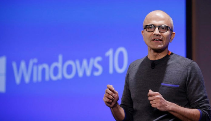 Satya Nadella and Windows
