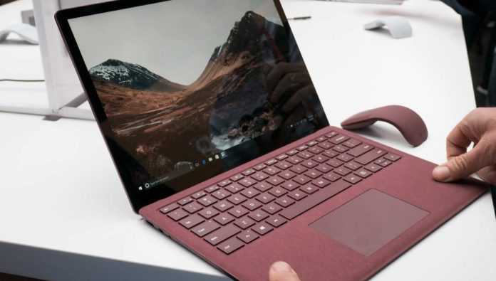 Surface Laptop with Windows 10