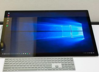 Surface Studio with Windows 10