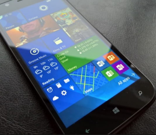 Wileyfox Pro with Windows 10