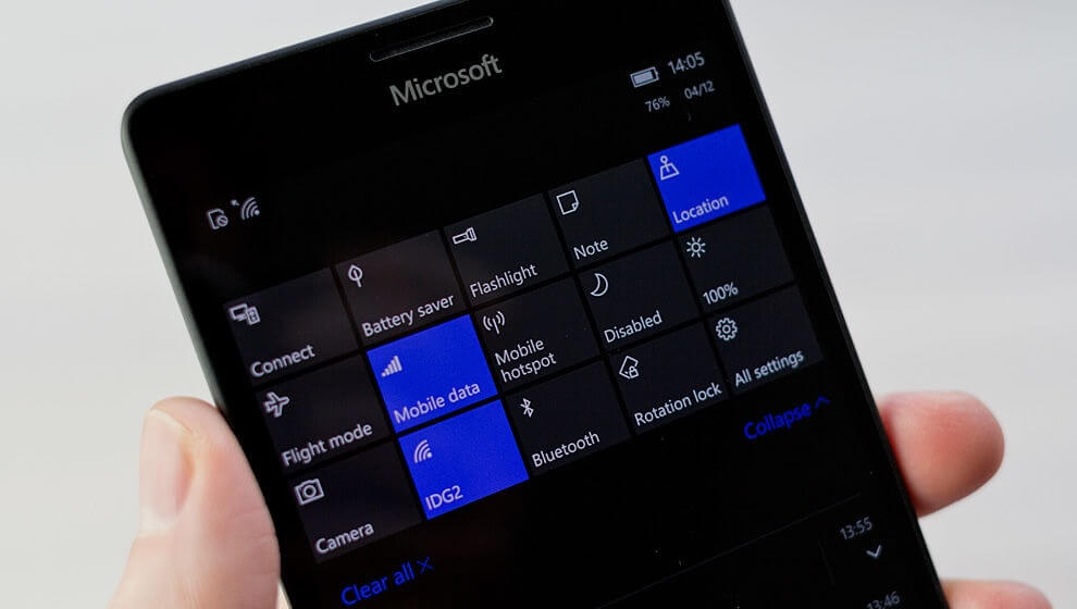 Windows 10 Mobile Build 15254 369