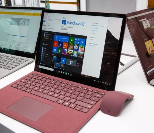 Windows 10 for Surface Laptop