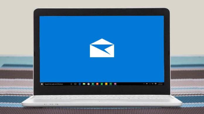 Windows 10's Mail app