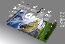 Windows Core OS concept in 3D