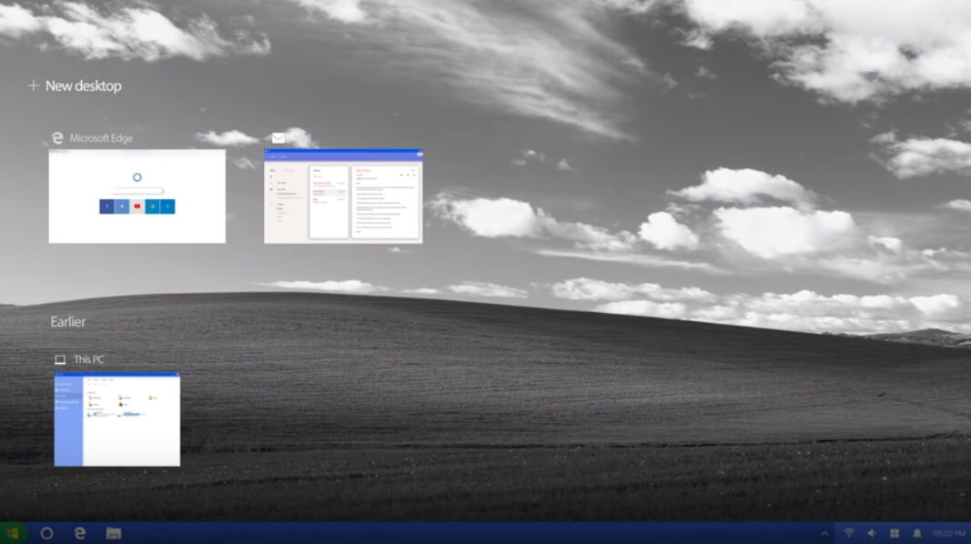 Concept of Windows XP