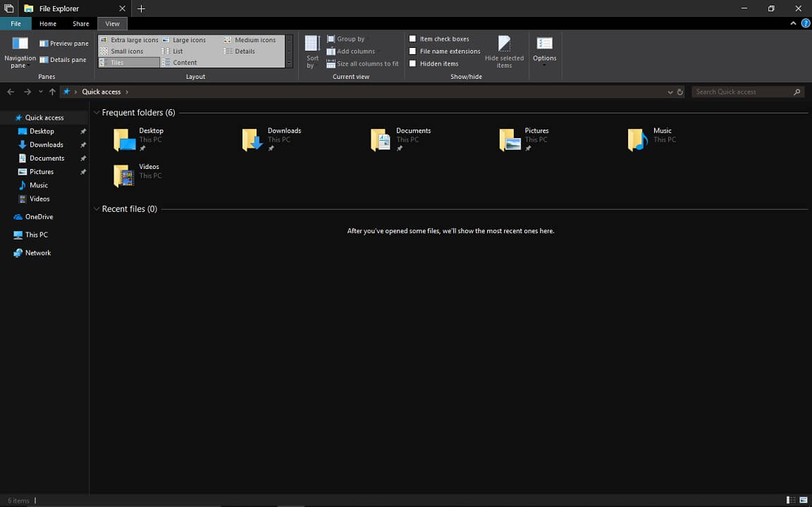 Microsoft Reveals New File Explorer With Dark Theme For Windows 10