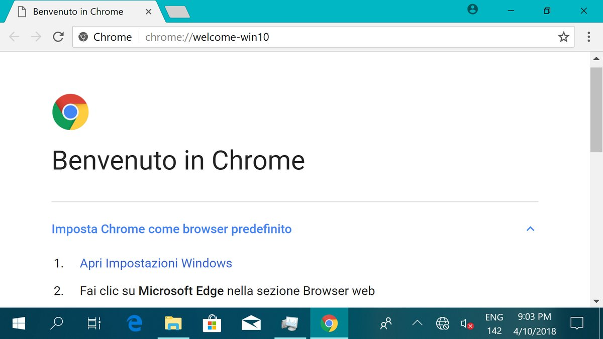 Google Chrome in Windows 10 ARM