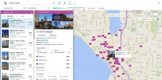 Hotels feature in Bing