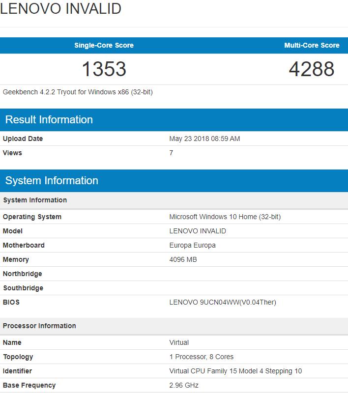 Lenovo ARM PC
