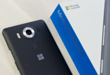 Lumia 950 with Windows 10