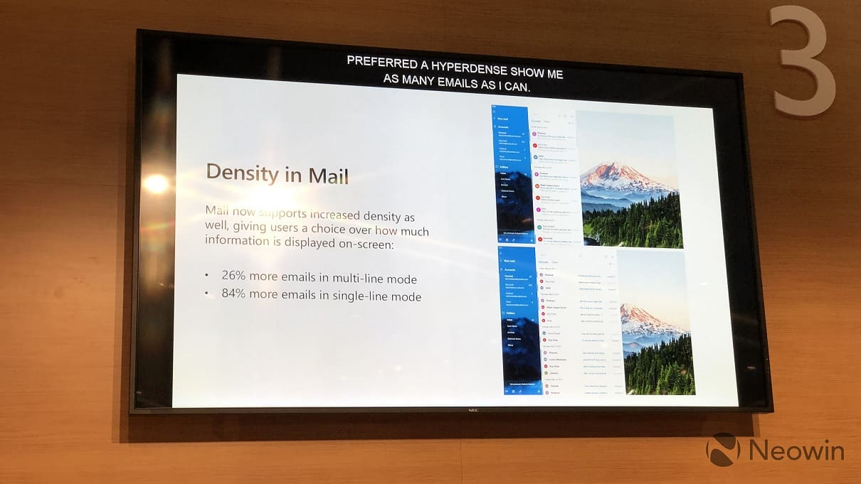 Mail app in Windows 10