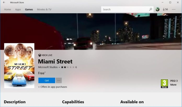 Miami Street for Windows 10