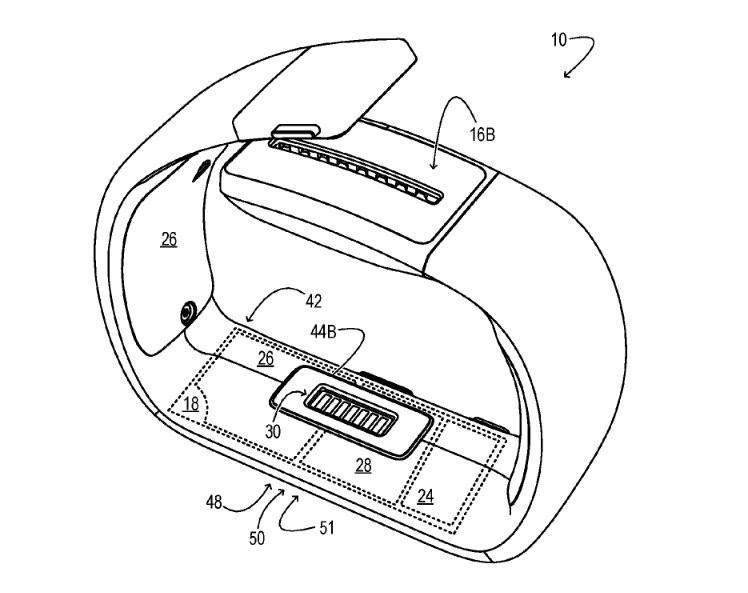 Microsoft Band 4 patent