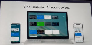 Timeline on Windows, Android and iOS