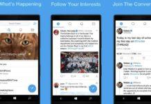 Twitter PWA for Windows 10 Mobile