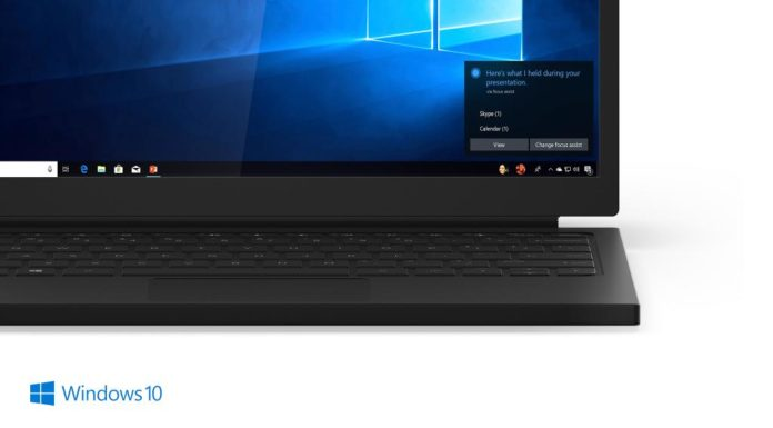 Windows 10 April 2018 Update desktop