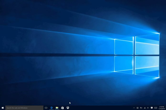 Windows 10 blank desktop