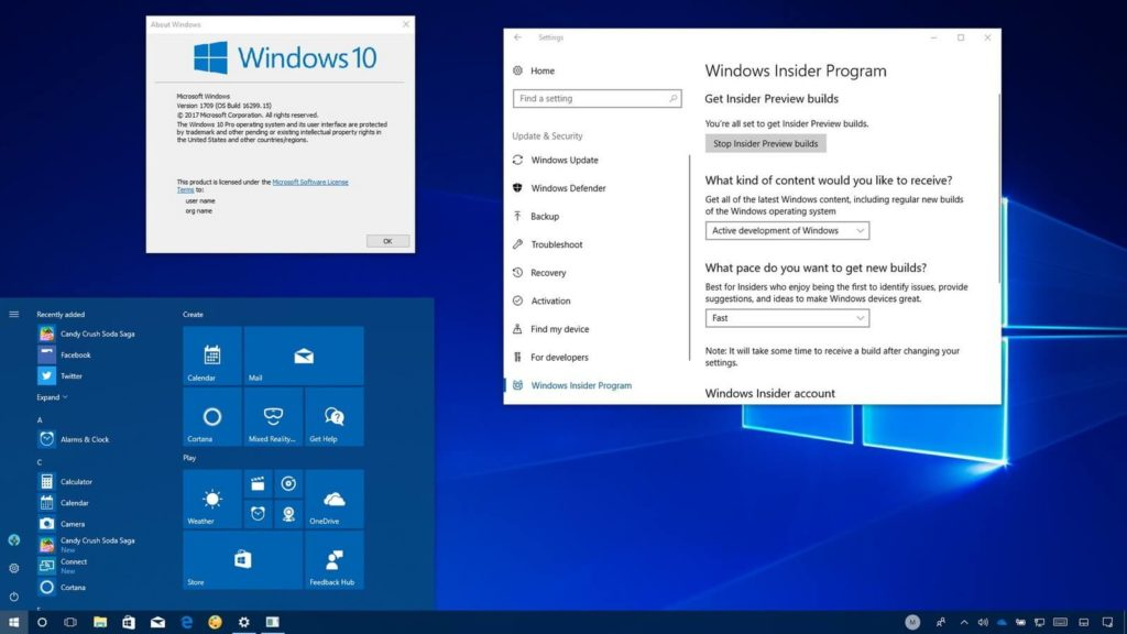 Windows 10 is receiving the cumulative updates with fixes