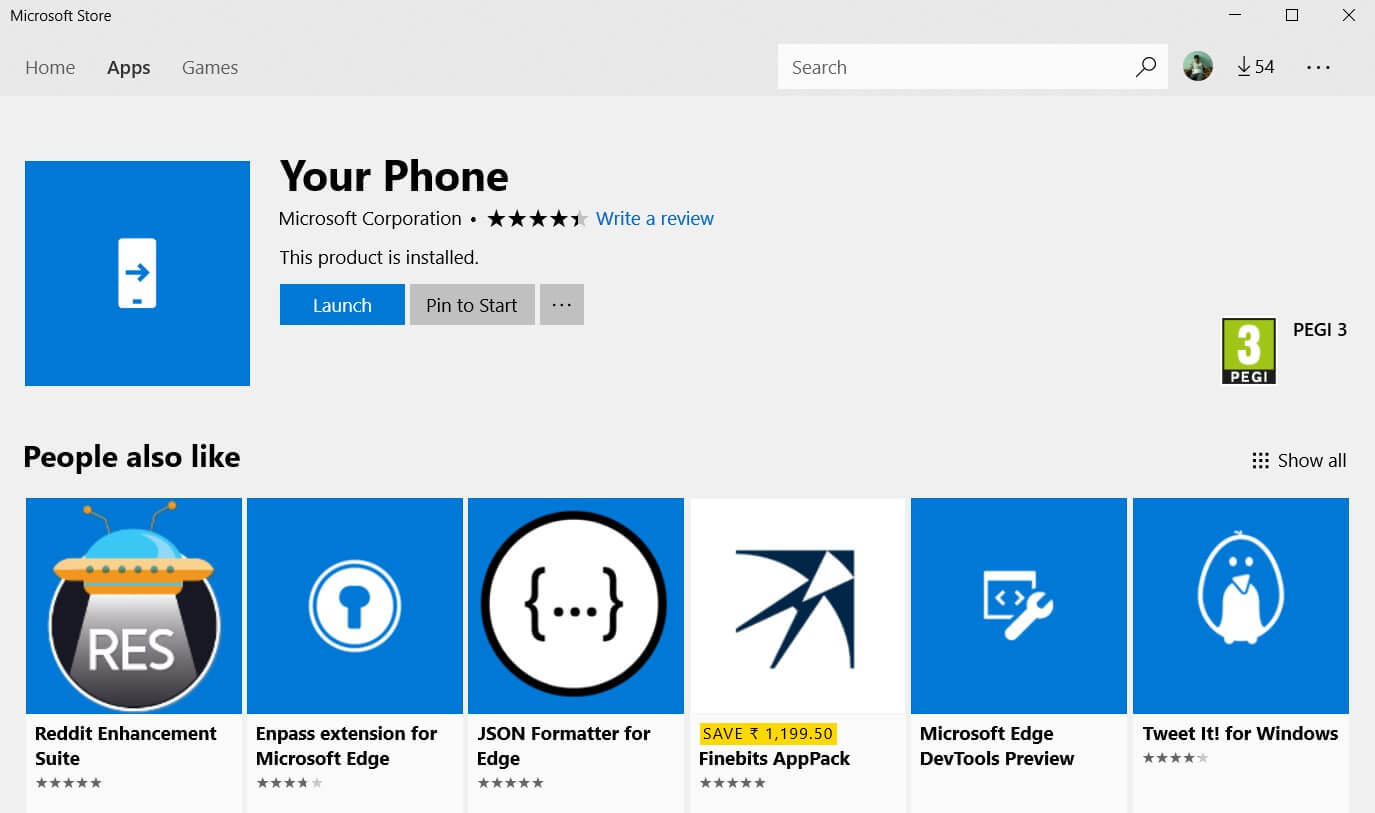 Microsoft's Your Phone app has more than 5 million download on Android