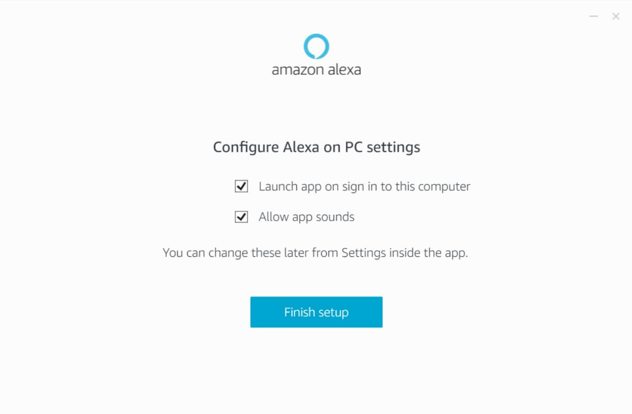 Amazon Alexa on PC