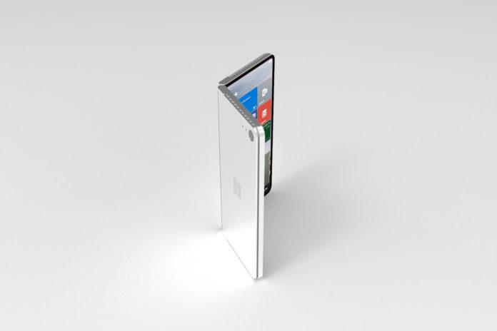 Back of Microsoft Andromeda