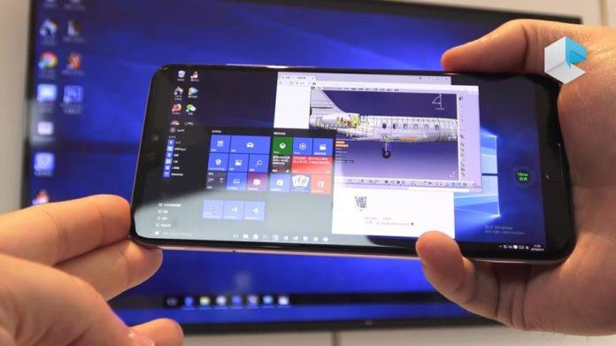 Full Windows on Huawei phones