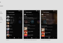 Groove Music on Windows 10 Mobile