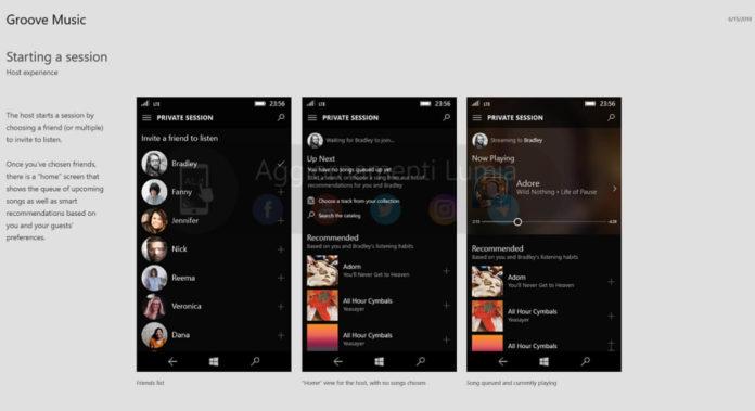 Groove Music on Windows 10 Mobile