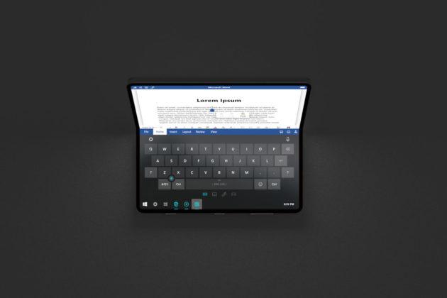 Microsoft Andromeda desktop mode