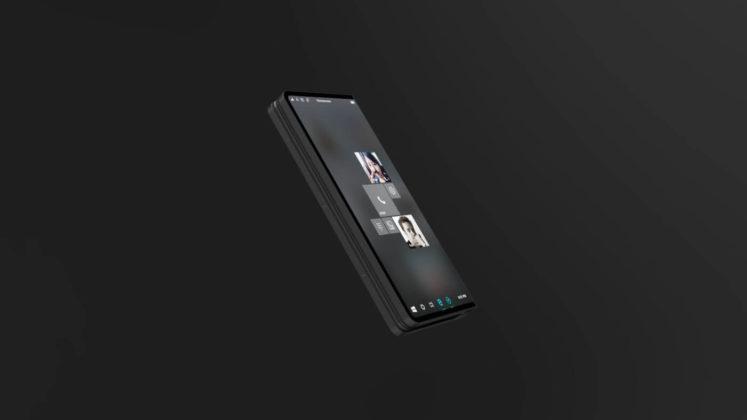 Microsoft Andromeda mobile mode