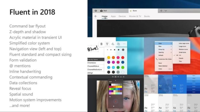 New Fluent Design roadmap