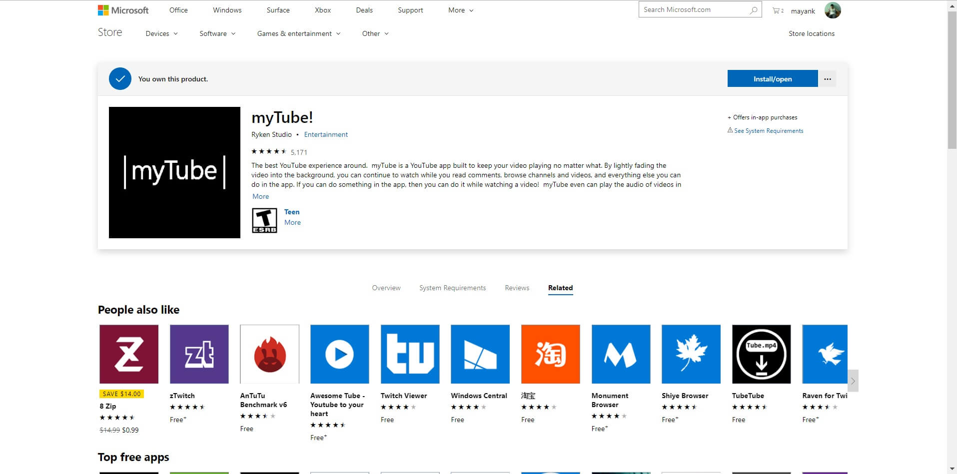 New Microsoft Store for Web