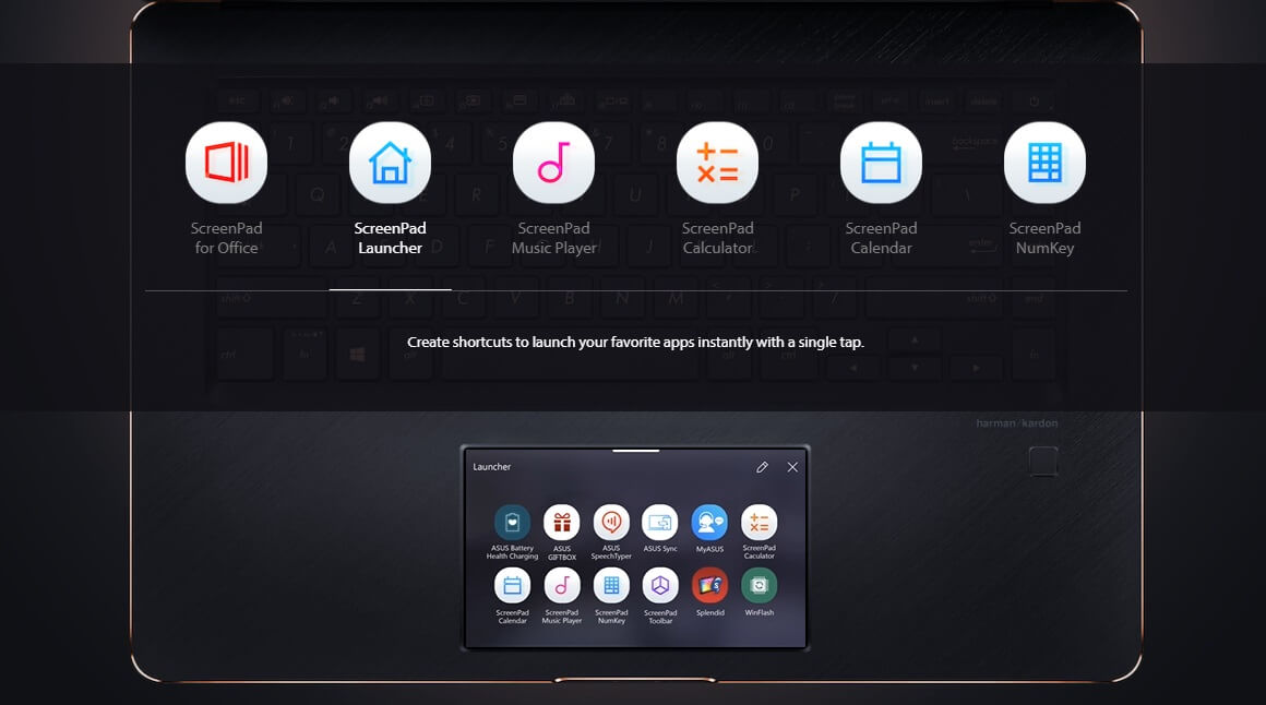 ScreenPad Launcher