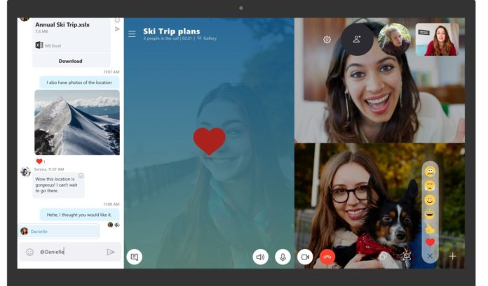 Skype UWP for Windows 10