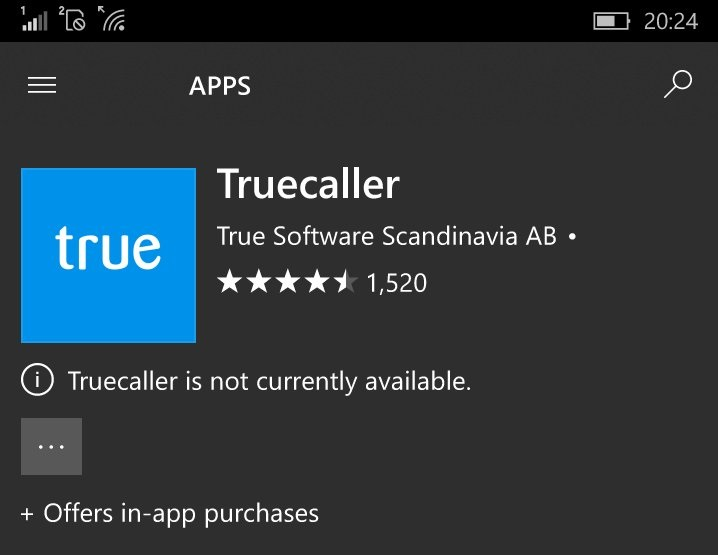 Truecaller for WP