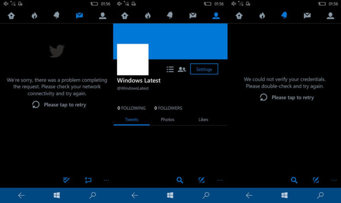 Twitter UWP app for Windows 10