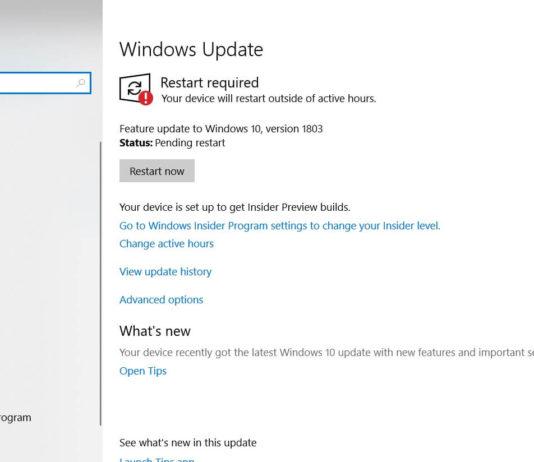 Windows Update on Windows 10