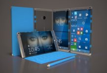 Foldable Windows 10 device