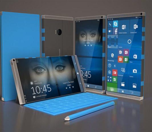 Foldable Windows 10 device