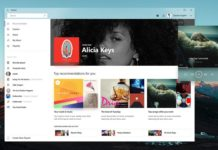 Groove Music new design concept
